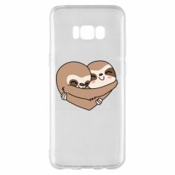 Чохол для Samsung S8+ Sloth lovers
