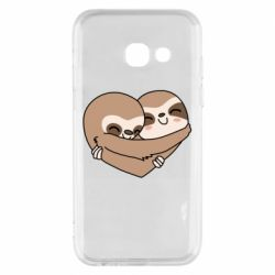 Чохол для Samsung A3 2017 Sloth lovers
