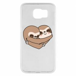 Чохол для Samsung S6 Sloth lovers