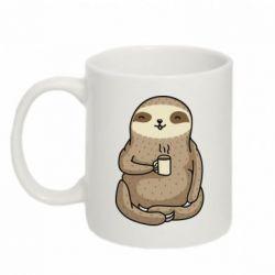 Кружка 320ml Sloth loves coffee