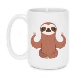 Кружка 420ml Sloth Yogi