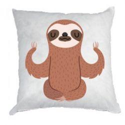 Подушка Sloth Yogi