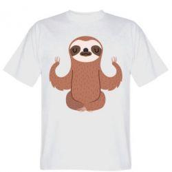 Футболка Sloth Yogi