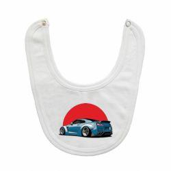 Слюнявчик  Nissan GR-R Japan