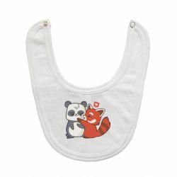 Слинявчик Panda and fire panda