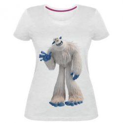 Жіноча стрейчева футболка Smallfoot Migo