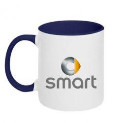 Кружка двоколірна 320ml Smart 2