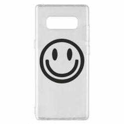 Чехол для Samsung Note 8 Смайлик