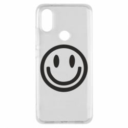Чехол для Xiaomi Mi A2 Смайлик - FatLine