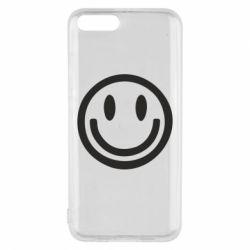 Чехол для Xiaomi Mi6 Смайлик - FatLine