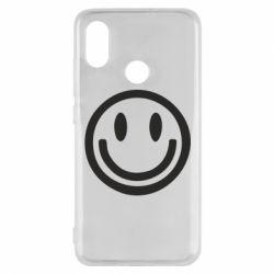 Чехол для Xiaomi Mi8 Смайлик - FatLine