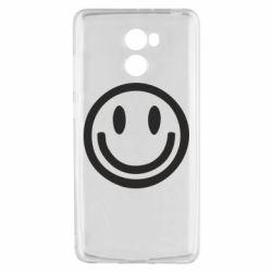 Чехол для Xiaomi Redmi 4 Смайлик - FatLine