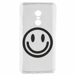 Чехол для Xiaomi Redmi Note 4 Смайлик - FatLine