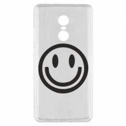 Чехол для Xiaomi Redmi Note 4x Смайлик - FatLine