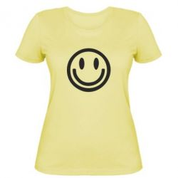 Жіноча футболка Смайлик - FatLine