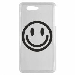 Чехол для Sony Xperia Z3 mini Смайлик - FatLine