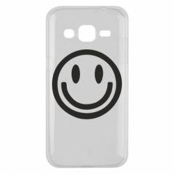 Чехол для Samsung J2 2015 Смайлик