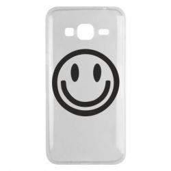 Чехол для Samsung J3 2016 Смайлик