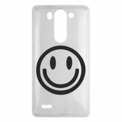Чехол для LG G3 mini/G3s Смайлик - FatLine