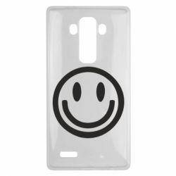 Чехол для LG G4 Смайлик - FatLine