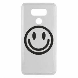 Чехол для LG G6 Смайлик - FatLine