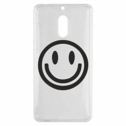 Чехол для Nokia 6 Смайлик - FatLine