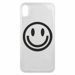 Чехол для iPhone Xs Max Смайлик