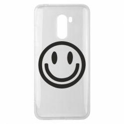 Чехол для Xiaomi Pocophone F1 Смайлик - FatLine