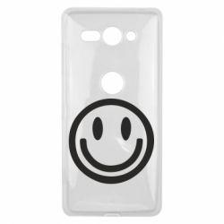Чехол для Sony Xperia XZ2 Compact Смайлик - FatLine