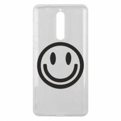 Чехол для Nokia 8 Смайлик - FatLine