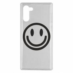 Чехол для Samsung Note 10 Смайлик