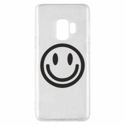 Чехол для Samsung S9 Смайлик