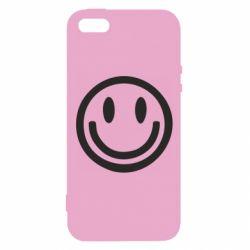 Чехол для iPhone5/5S/SE Смайлик