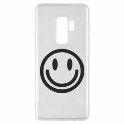 Чехол для Samsung S9+ Смайлик