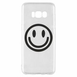 Чехол для Samsung S8 Смайлик