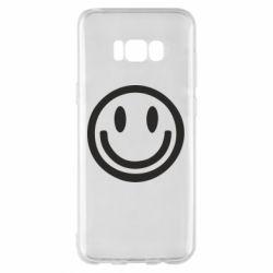 Чехол для Samsung S8+ Смайлик