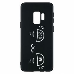 Чехол для Samsung S9 Smile cat 200