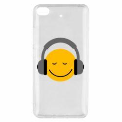 Чехол для Xiaomi Mi 5s Smile in the headphones