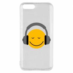 Чехол для Xiaomi Mi6 Smile in the headphones