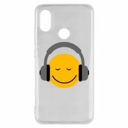 Чехол для Xiaomi Mi8 Smile in the headphones