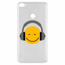 Чехол для Xiaomi Mi Max 2 Smile in the headphones
