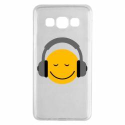 Чехол для Samsung A3 2015 Smile in the headphones