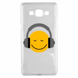 Чехол для Samsung A5 2015 Smile in the headphones