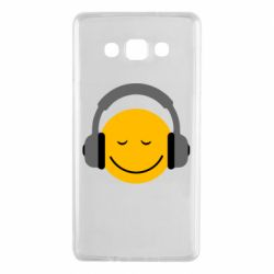 Чехол для Samsung A7 2015 Smile in the headphones