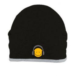 Шапка Smile in the headphones