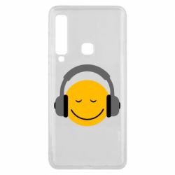 Чехол для Samsung A9 2018 Smile in the headphones