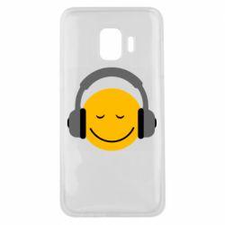 Чехол для Samsung J2 Core Smile in the headphones