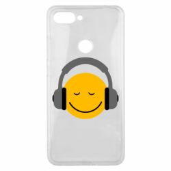 Чехол для Xiaomi Mi8 Lite Smile in the headphones