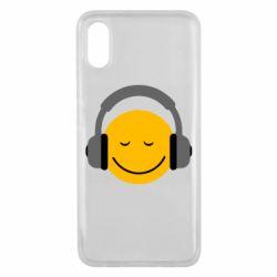 Чехол для Xiaomi Mi8 Pro Smile in the headphones