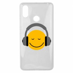 Чехол для Xiaomi Mi Max 3 Smile in the headphones